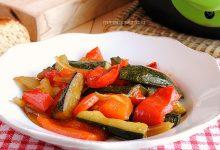 Verdure al curry e salsa di soia