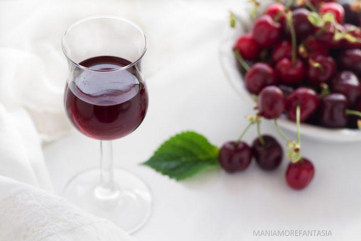 liquore di ciliegie home made