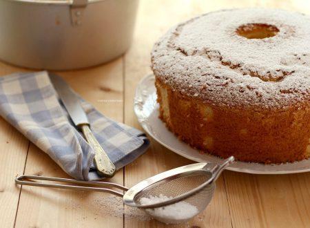 CHIFFON CAKE RICETTA ORIGINALE del sofficissimo ciambellone americano!