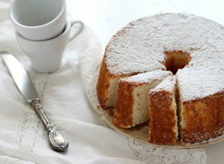 """ANGEL CAKE RICETTA DELLA CIAMBELLA """"NUVOLA"""" senza grassi!"""