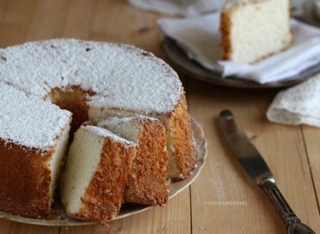 Angel Cake, ciambellone americano senza grassi