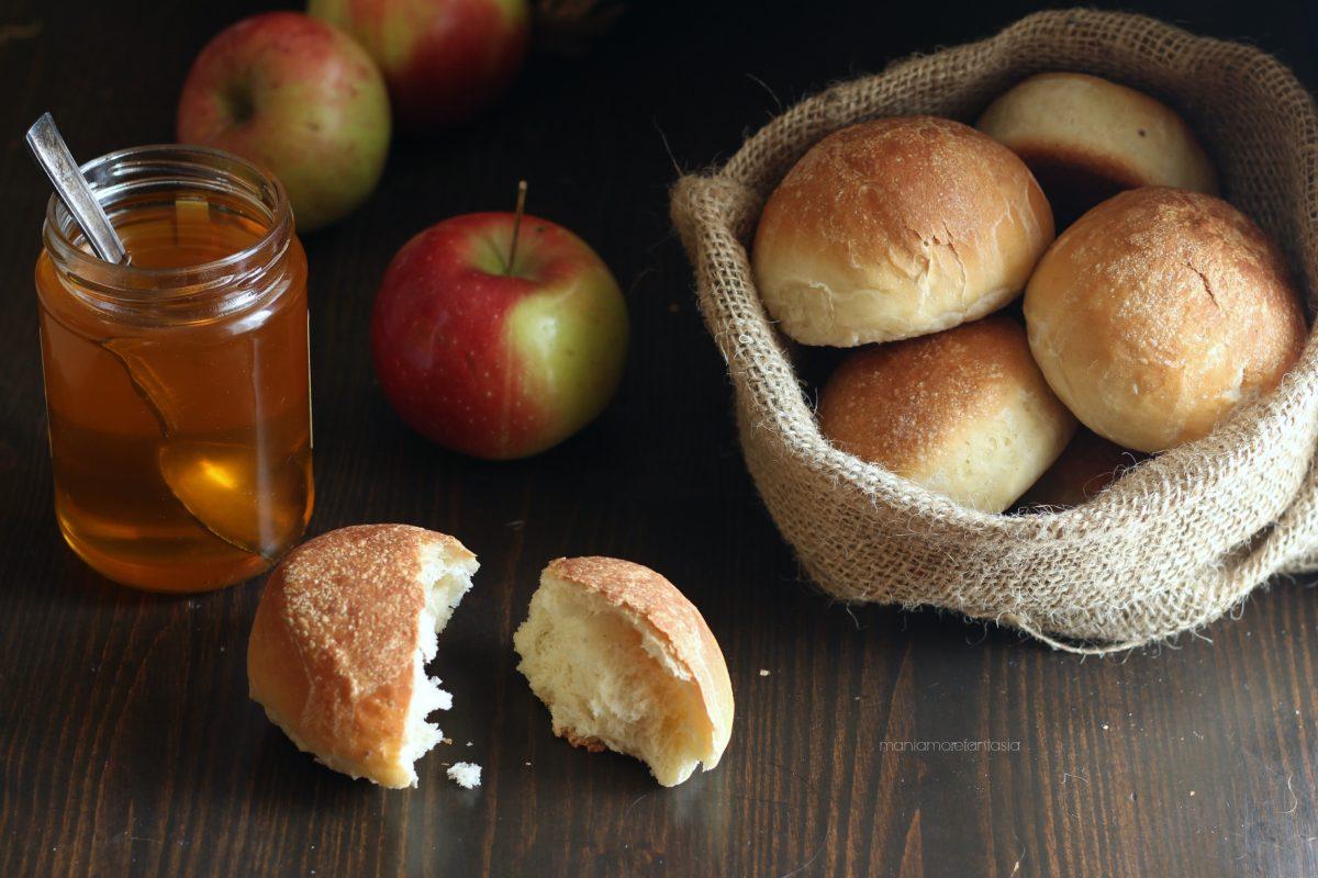 panini dolci alle mele