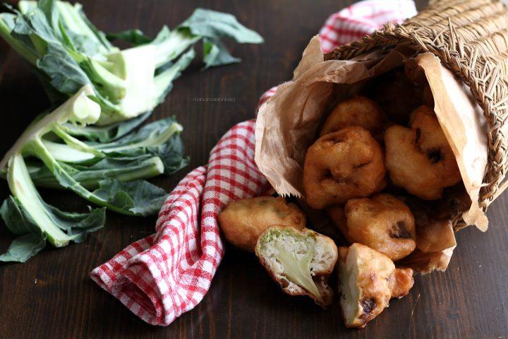 frittelle di cavolfiore, broccoli fritti alla siciliana