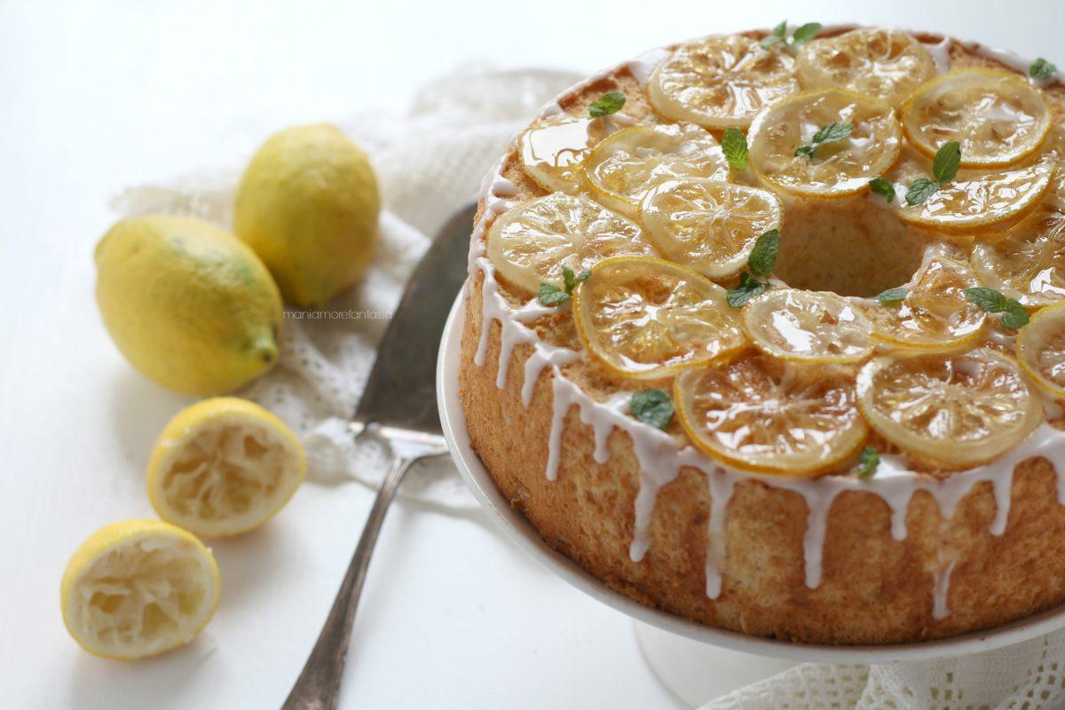 torta scorze di limone e albumi