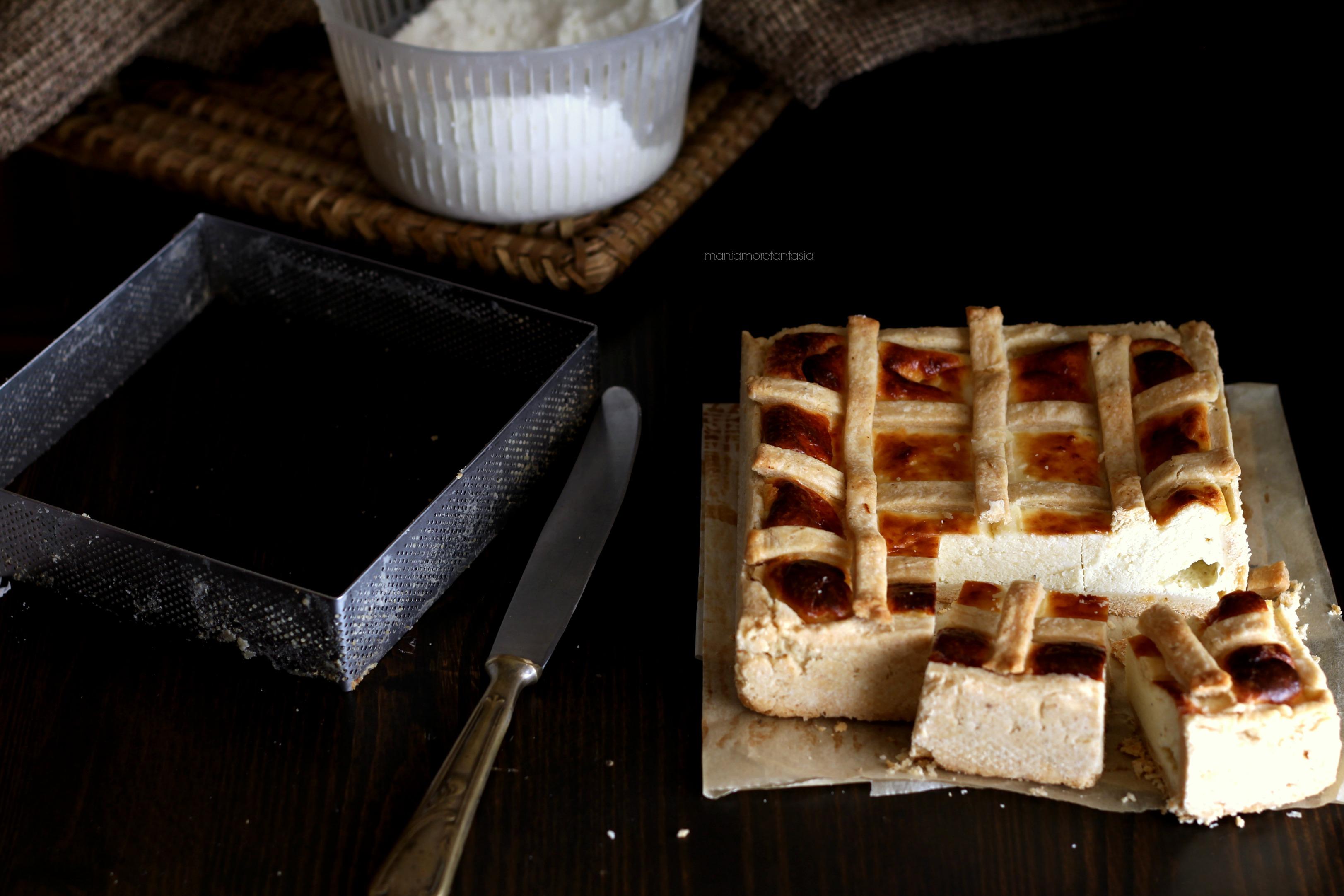 torta salata di brisée ai formaggi