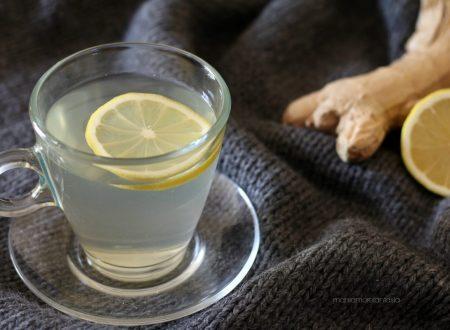 TISANA ZENZERO E LIMONE, bevanda depurativa attiva metabolismo!