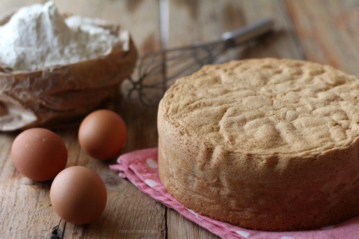 pan di spagna perfetto senza lievito