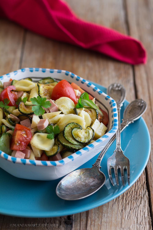 orecchiette con zucchine e pomodorini ricetta pasta fredda