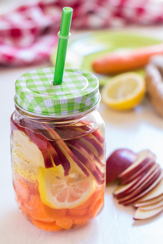 acqua detox dolce senza zucchero