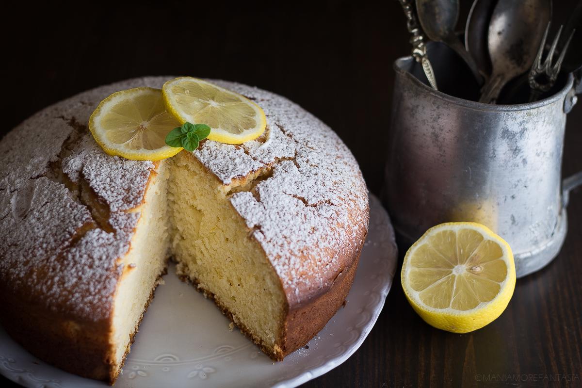 torta semplice di ricotta