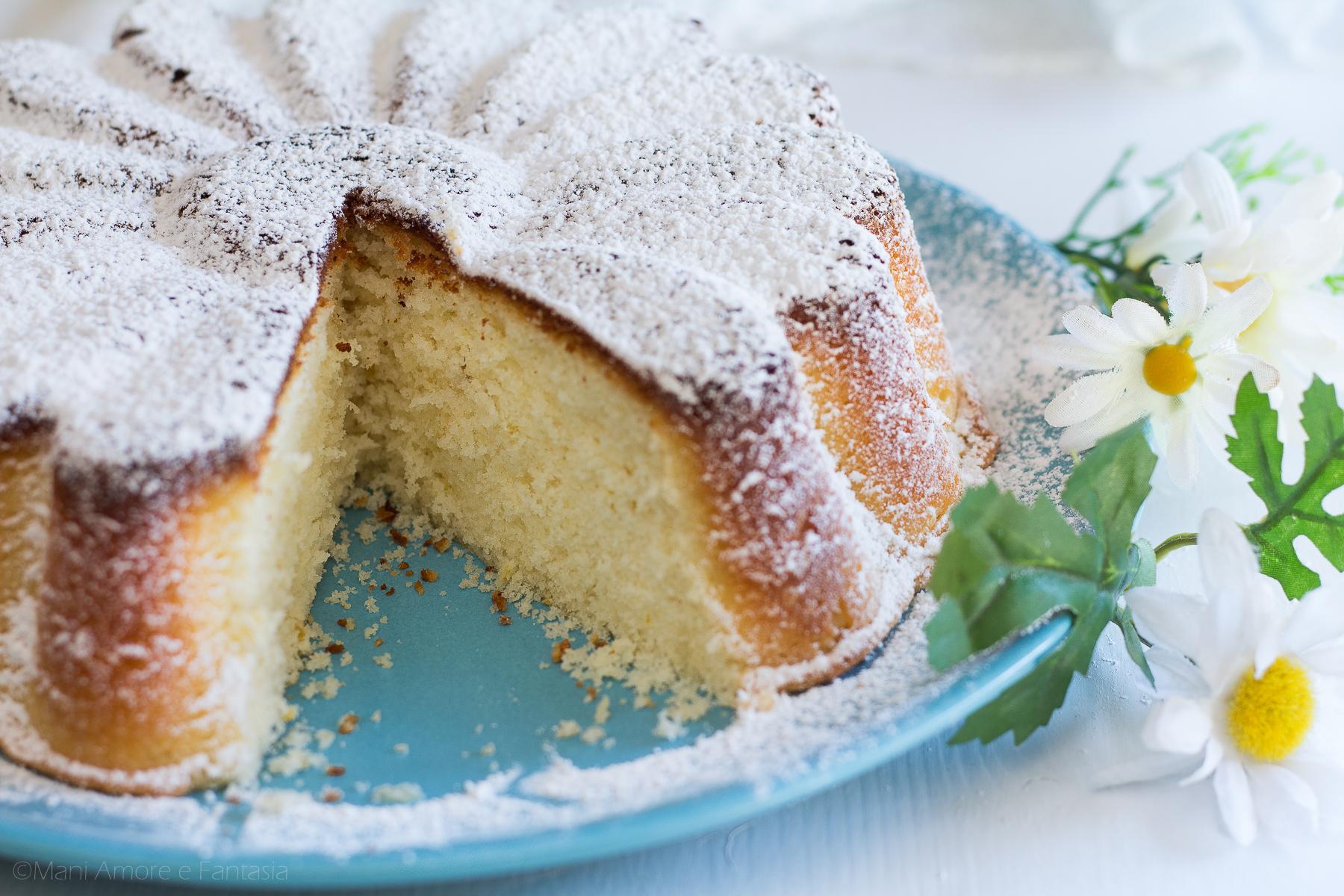 torta in padella con stampo silicone