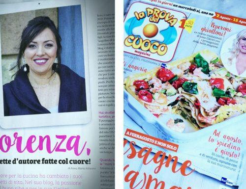 Intervista a Mani amore e fantasia sul magazine della Prova del cuoco