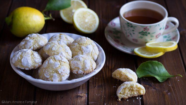 biscotti al limone morbidi
