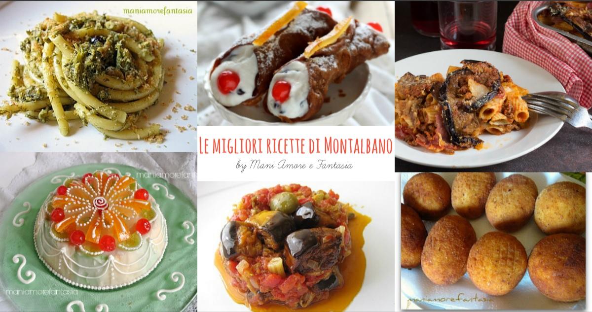 Le migliori ricette di Montalbano