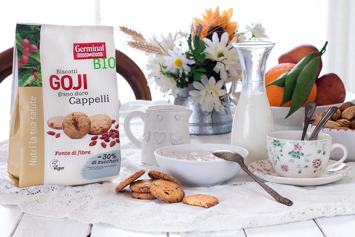 colazione sana biscotti integrali