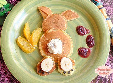 Pancake coniglietto, metti un Bugs Bunny a colazione!