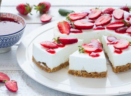 CHEESECAKE SENZA COTTURA ricetta base per tutte le cheesecake!