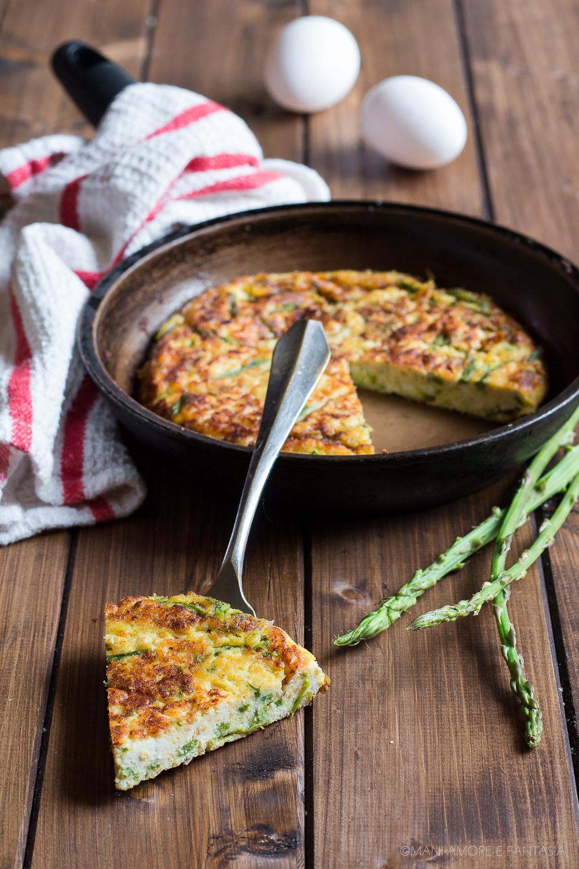 frittata asparagi e ricotta