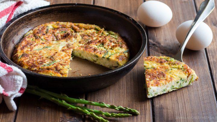 frittata asparagi e ricotta ricetta