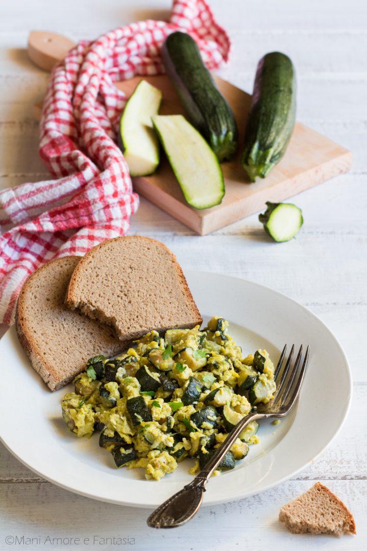 uova strapazzate con zucchine