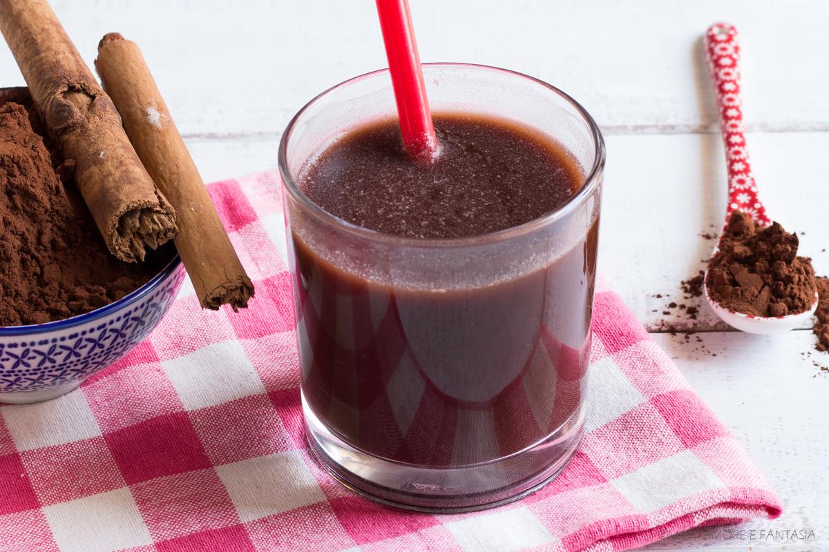 bevanda al cacao drenante