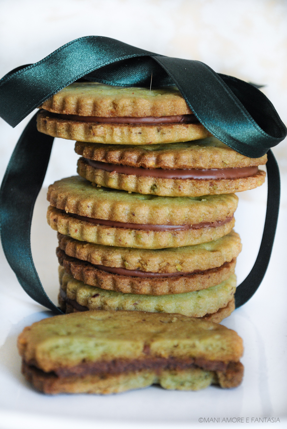 biscotti pistacchio cioccolato