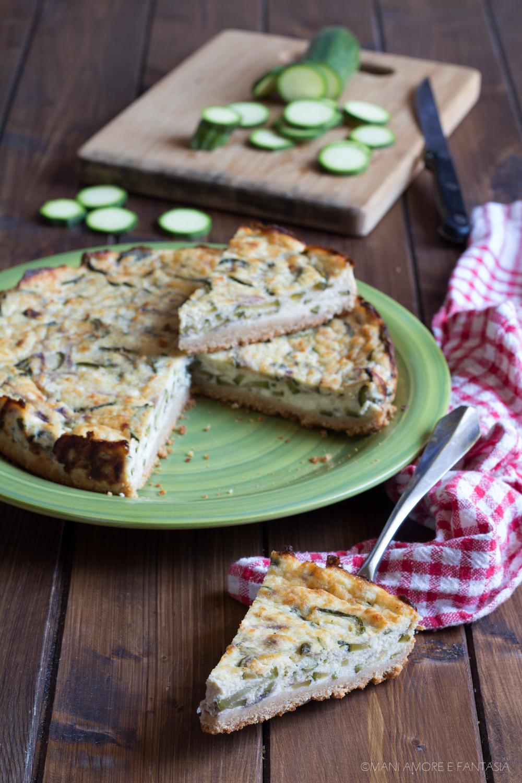 cheesecake zucchine e ricotta