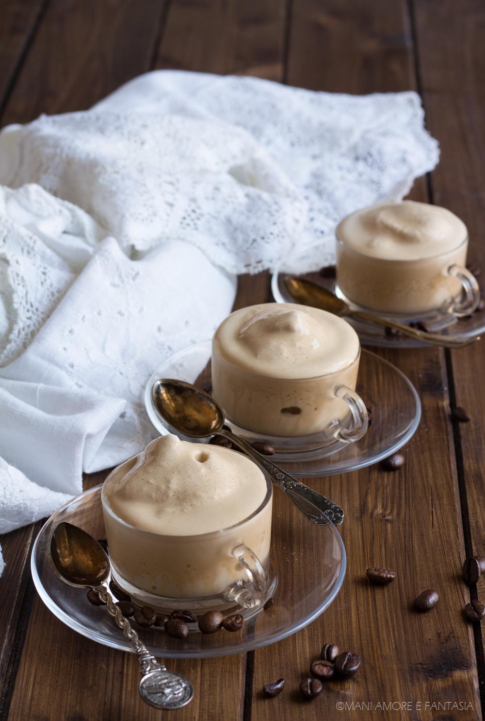 crema caffè senza panna
