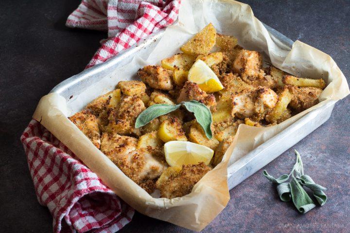 bocconcini di pollo e patate