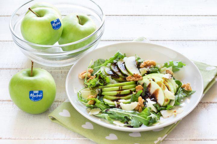 insalata di rucola e mele
