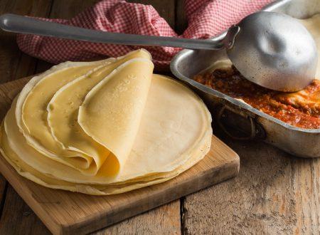 CRESPELLE PER LASAGNE E CANNELLONI, la ricetta perfetta!
