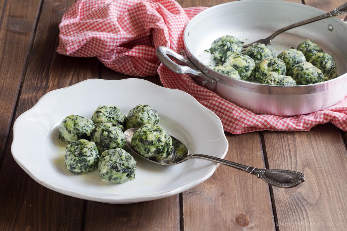 gnocchi ricotta e spinaci gratinati al forno
