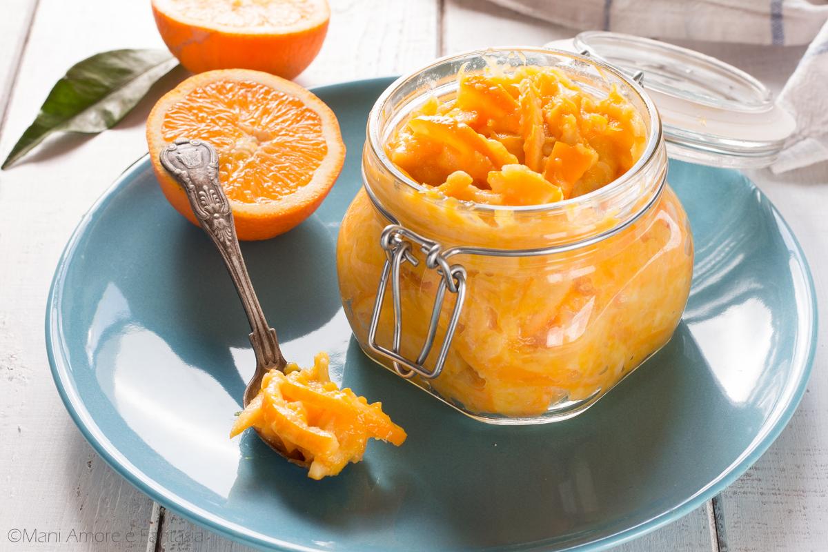 composta di arance con poco zucchero