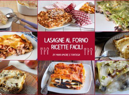 LASAGNE AL FORNO FACILI, con crèpes e pasta fresca!
