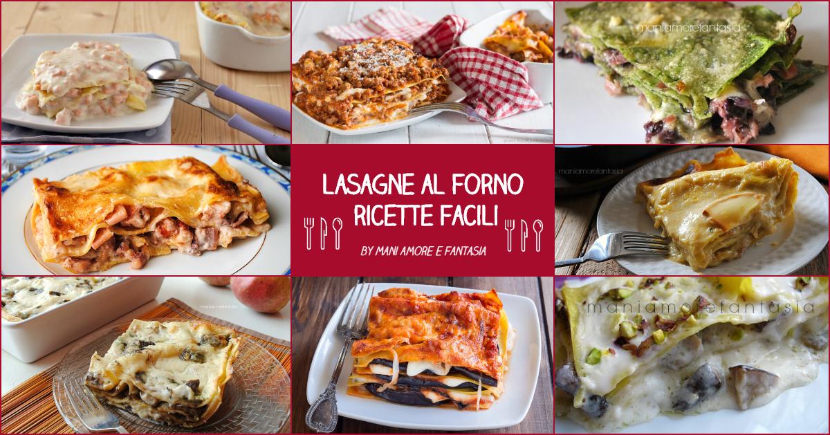 lasagne al forno ricette facili