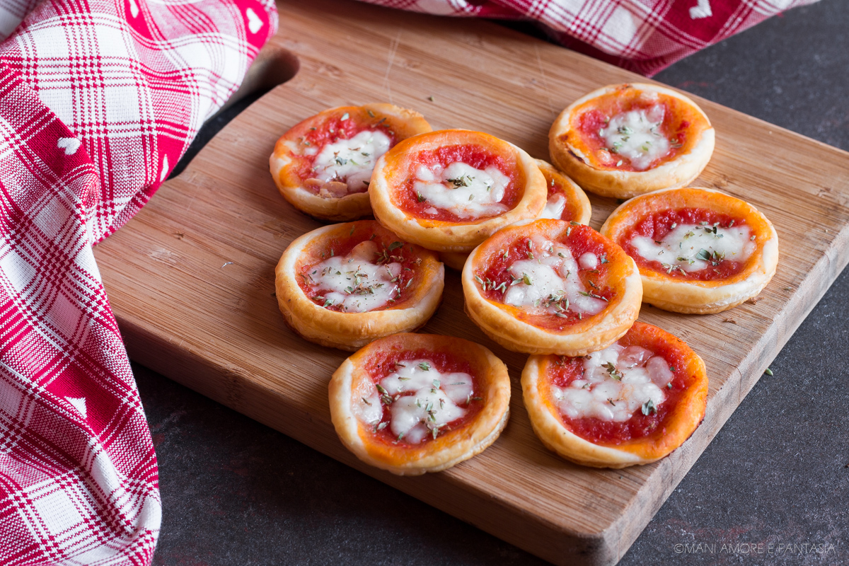 pizzette di pasta sfoglia velocissime