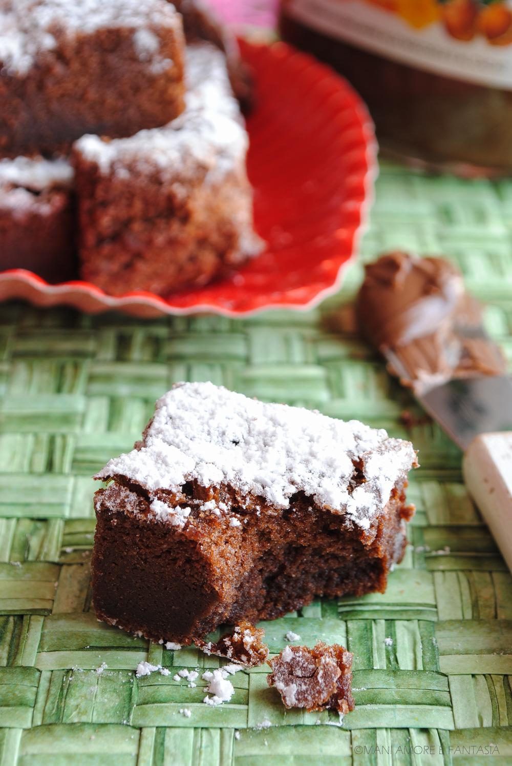 brownies alla nutella senza farina