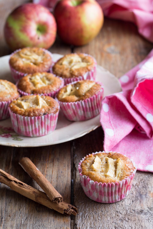 cupcake mele e cannella