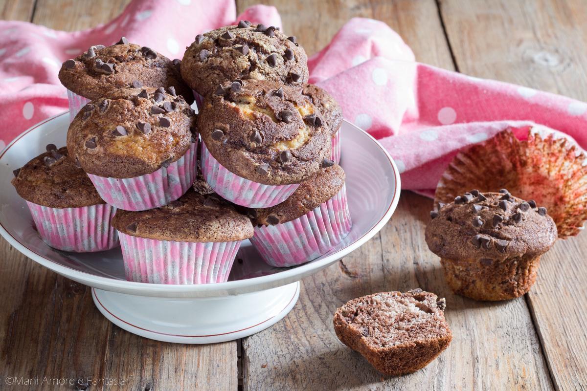 cupcake ricotta e cioccolato