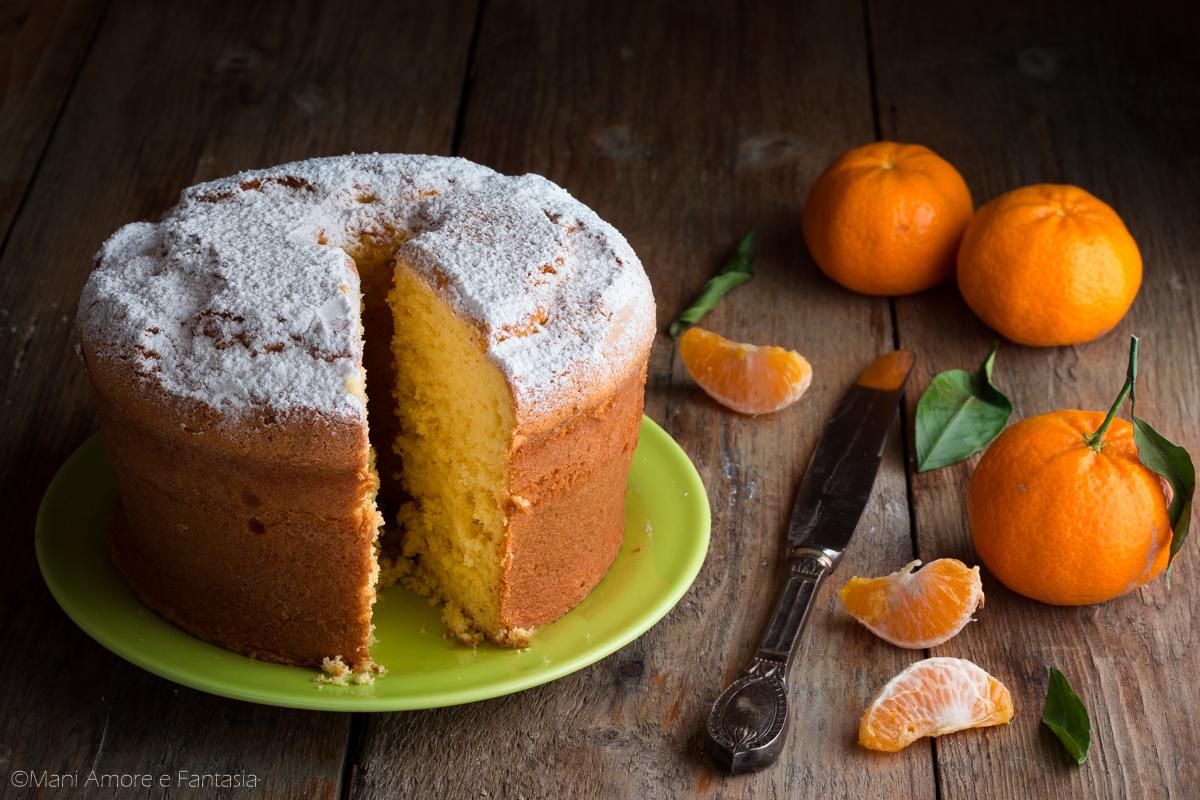 Torta Al Mandarino Dolce Soffice E Profumato Senza Burro Facilissimo
