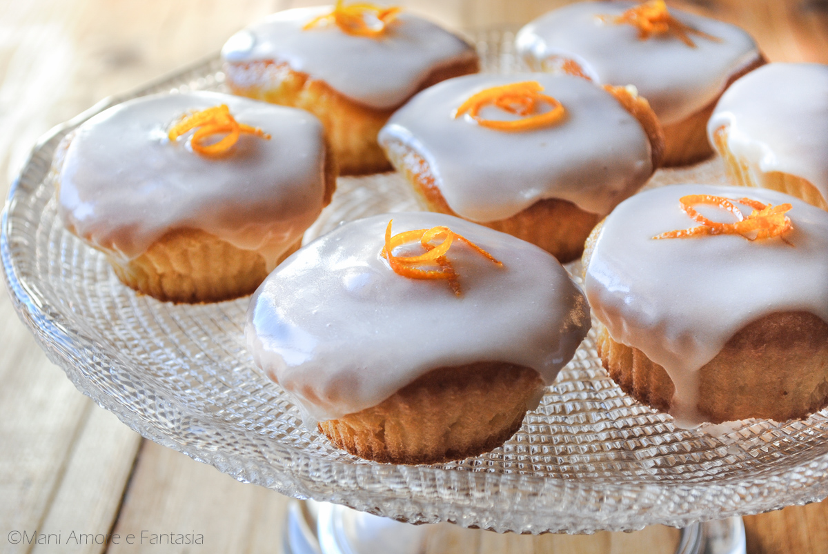 cupcake pan d'arancio