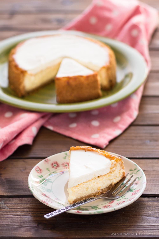 cheesecake al forno facilissima