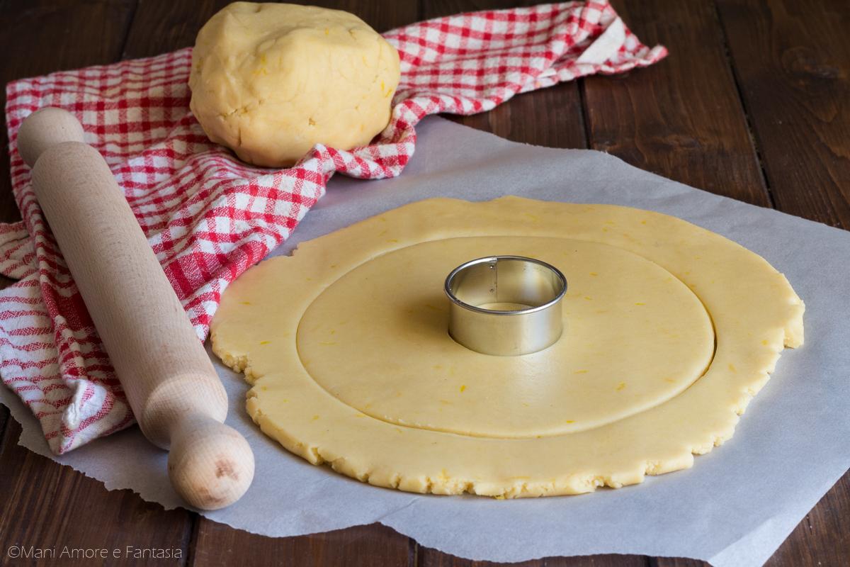 pasta frolla per cream tarte