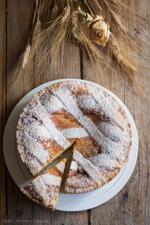 pastiera napoletana con grano e ricotta
