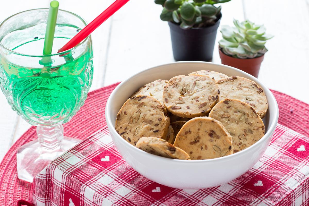 biscotti salati ai semi di zucca