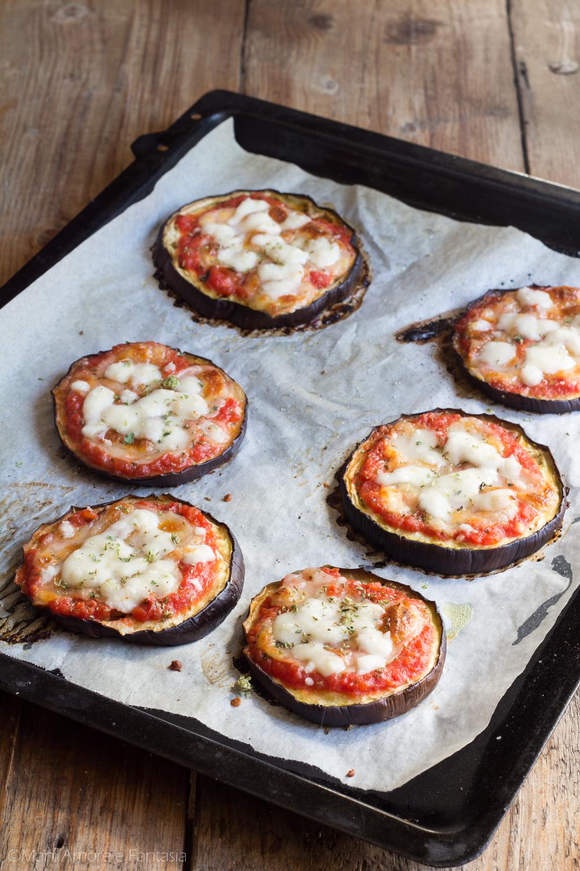 Pizzette Di Melanzane Al Forno Antipasto Sfizioso O Secondo Leggero