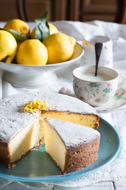 torta soffice limone e yogurt