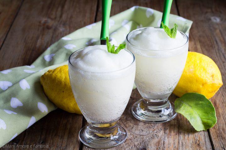granita al limone ricetta siciliana