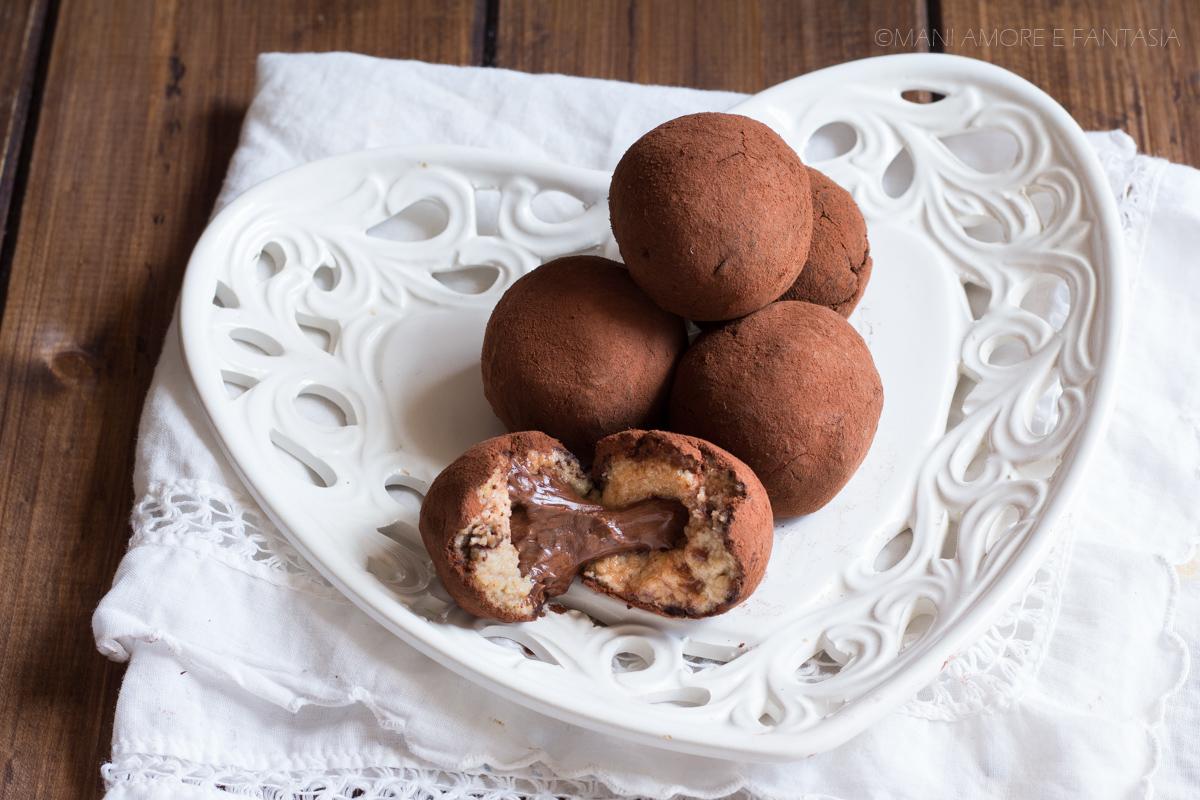 tartufi mascarpone e nutella