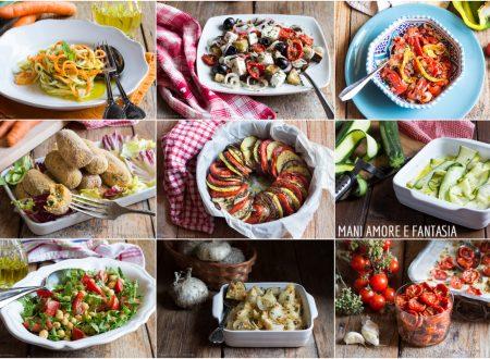 18 CONTORNI ESTIVI FACILI E SFIZIOSI con ingredienti di stagione